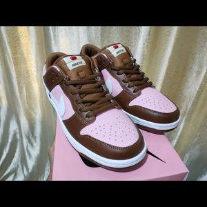 "Nike Dunk Low Pro SB · ""stussy  shoes"